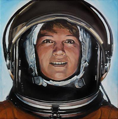Eileen Collins Poster by Simon Kregar