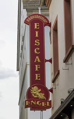 Eis Cafe Rudesheim Poster