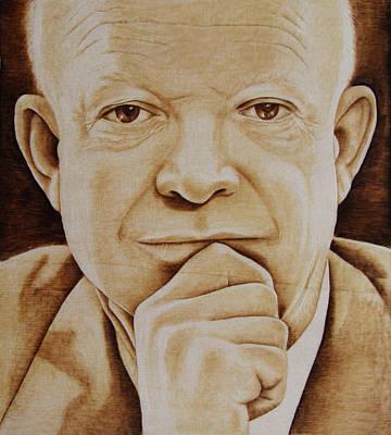 Eisenhower - The Man  Poster by Jo Schwartz