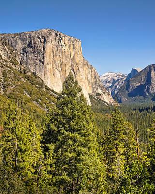 El Capitan Yosemite Poster by Lutz Baar