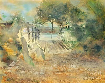El Puente De Laxe Poster