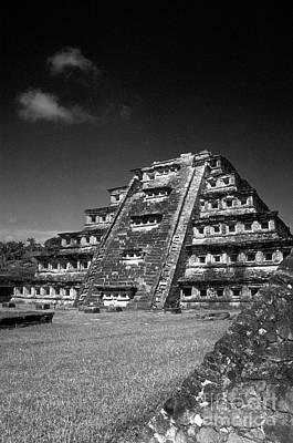 El Tajin Pyramid Veracruz Mexico Poster