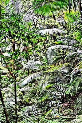 El Yunque Rainforest 4 Poster by Carey Chen