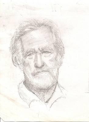 Elderly Man Poster