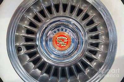 Poster featuring the photograph Eldorado Hubcap by Dennis Hedberg