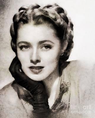 Eleanor Parker, Vintage Actress Poster