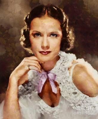 Eleanor Powell, Vintage Actress Poster