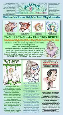 Election Page Erewhon Edition Poster by Dawn Sperry