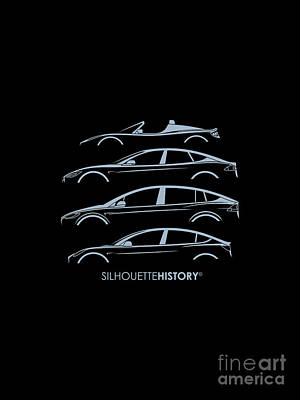 Electric Silhouettehistory Poster