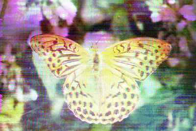 Poster featuring the digital art Electronic Wildlife  by Bee-Bee Deigner