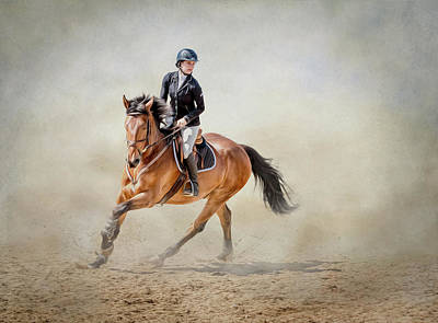 Poster featuring the photograph Elegance In The Dust by Debby Herold