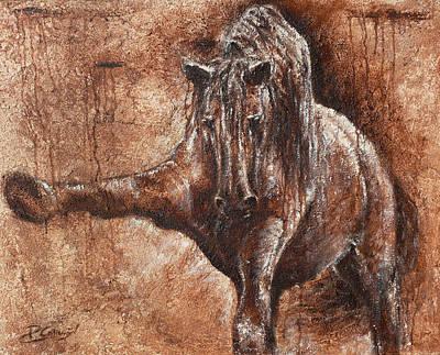 Elegance Of Joy Poster by Paula Collewijn -  The Art of Horses