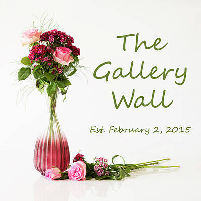 Poster featuring the photograph Elegance-the Gallery Wall Logo by Wendy Wilton