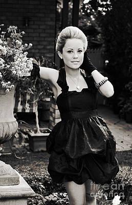 Elegant Gardening Lady Poster by Jorgo Photography - Wall Art Gallery