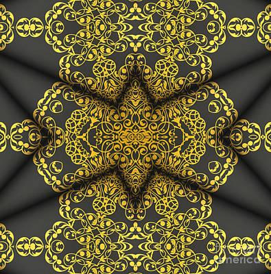 Elegant Mandala 2 Poster