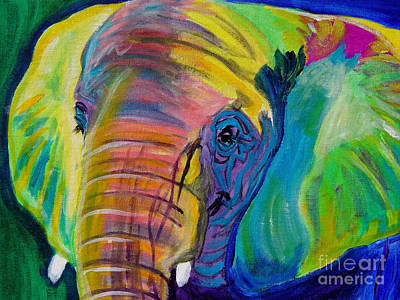 Elephant - Pachyderm Poster by Alicia VanNoy Call