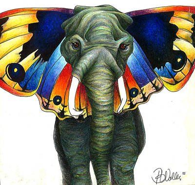 Elephly Poster by Brianna Wolber