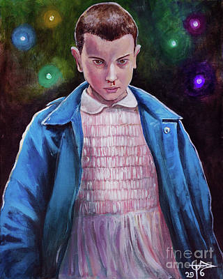 Eleven Poster by Tom Carlton