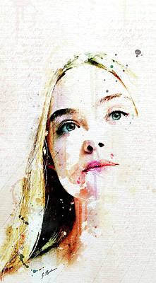Eliannah Vernal Blush Poster by Gary Bodnar