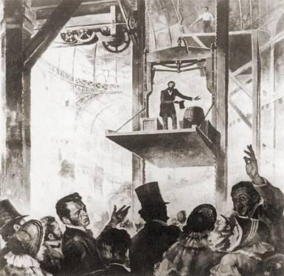 Elisha Graves Otis 1811-1861 Poster by Everett