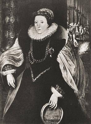 Elizabeth I, 1533 Poster by Vintage Design Pics