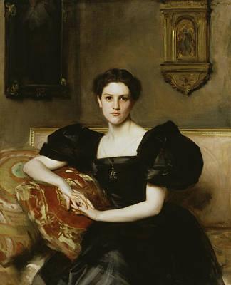 Elizabeth Winthrop Chanler Poster by John Singer Sargent
