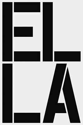 Ella Poster by Three Dots