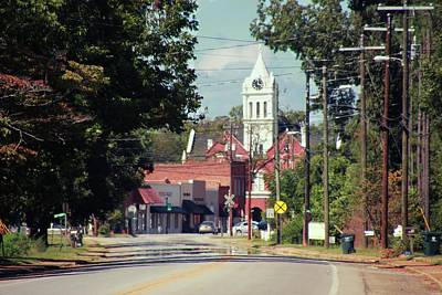 Poster featuring the photograph Ellaville, Ga - 2 by Jerry Battle