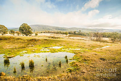 Ellendale Tasmania Background Poster by Jorgo Photography - Wall Art Gallery