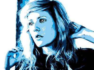 Ellie Goulding Starry Eyed Poster