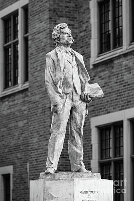 Elmira College Mark Twain Statue Poster by University Icons