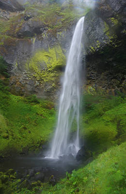 Elowah Falls Poster