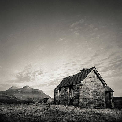 Elphin Bothy Poster by Dave Bowman