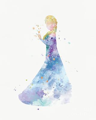 Elsa Poster by Monn Print