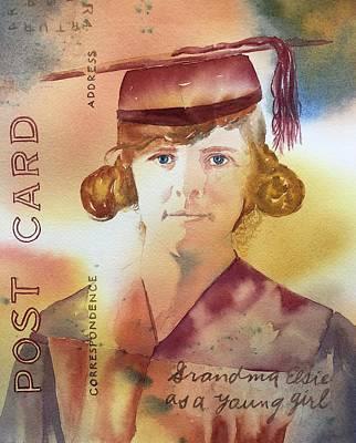 Elsie Circa 1915 Poster