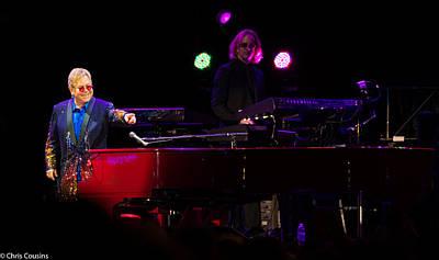 Elton - Enjoying The Show Poster