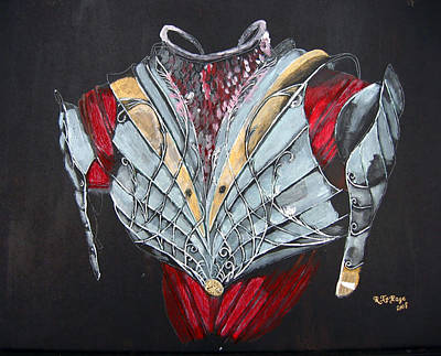 Elven Armor Poster