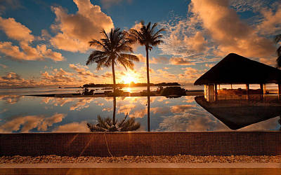 Elvin Siew Chun Wai - Beautiful Nature Sunset Landscape  Poster