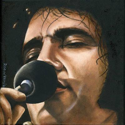 Elvis 24 1972 Poster by Rob De Vries