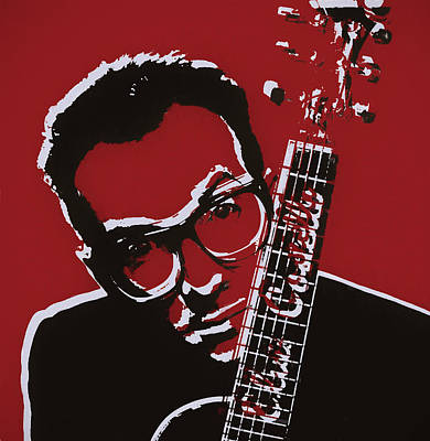Elvis Costello Pop Art Poster by Dan Sproul