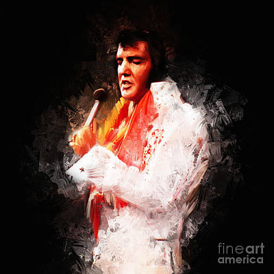 Elvis Presley 02 Poster by Gull G