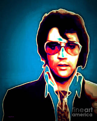 Elvis Presley 20151218 Poster by Wingsdomain Art and Photography