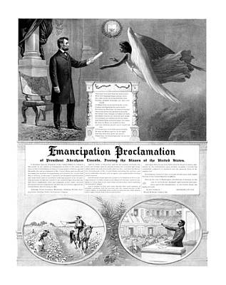Emancipation Proclamation Poster by War Is Hell Store