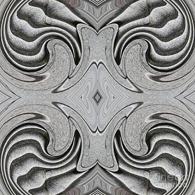 Embellishment In Concrete 6 Poster by Sarah Loft