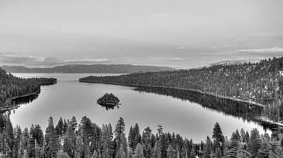 Emerald Bay Lake Tahoe Poster by Brad Scott
