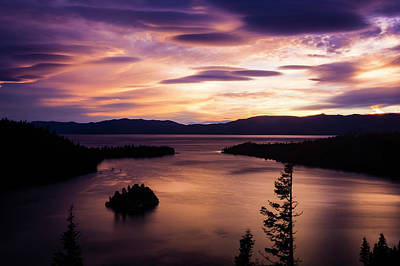 Emerald Bay Sunrise - Lake Tahoe, California Poster