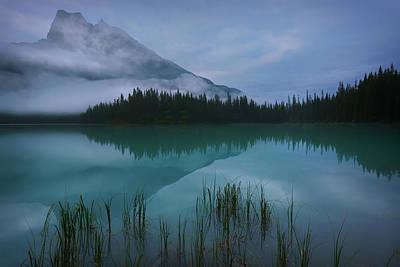 Emerald Lake Before Sunrise Poster