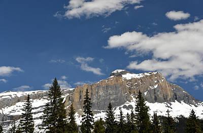 Emerald Lake Mountains Poster
