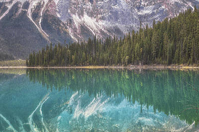 Emerald Lake Reflection No 2 Poster
