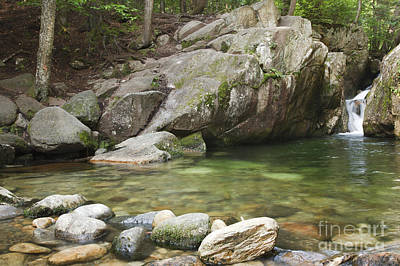 Emerald Pool - White Mountains New Hampshire Usa Poster